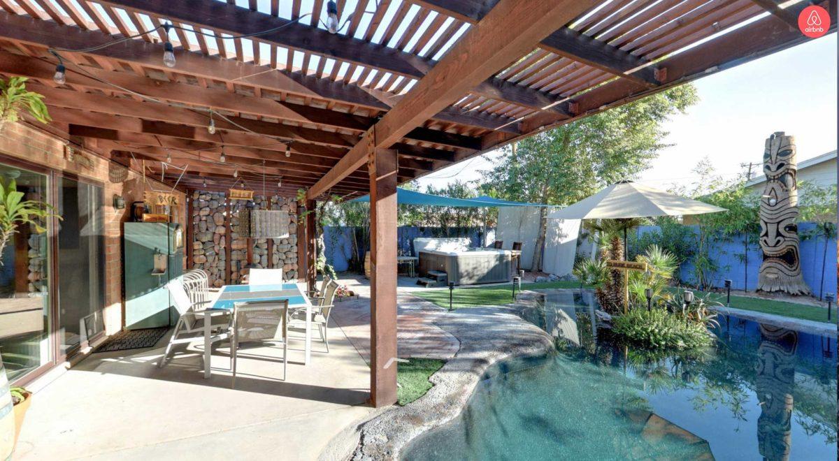 Pool & Hut tub fun