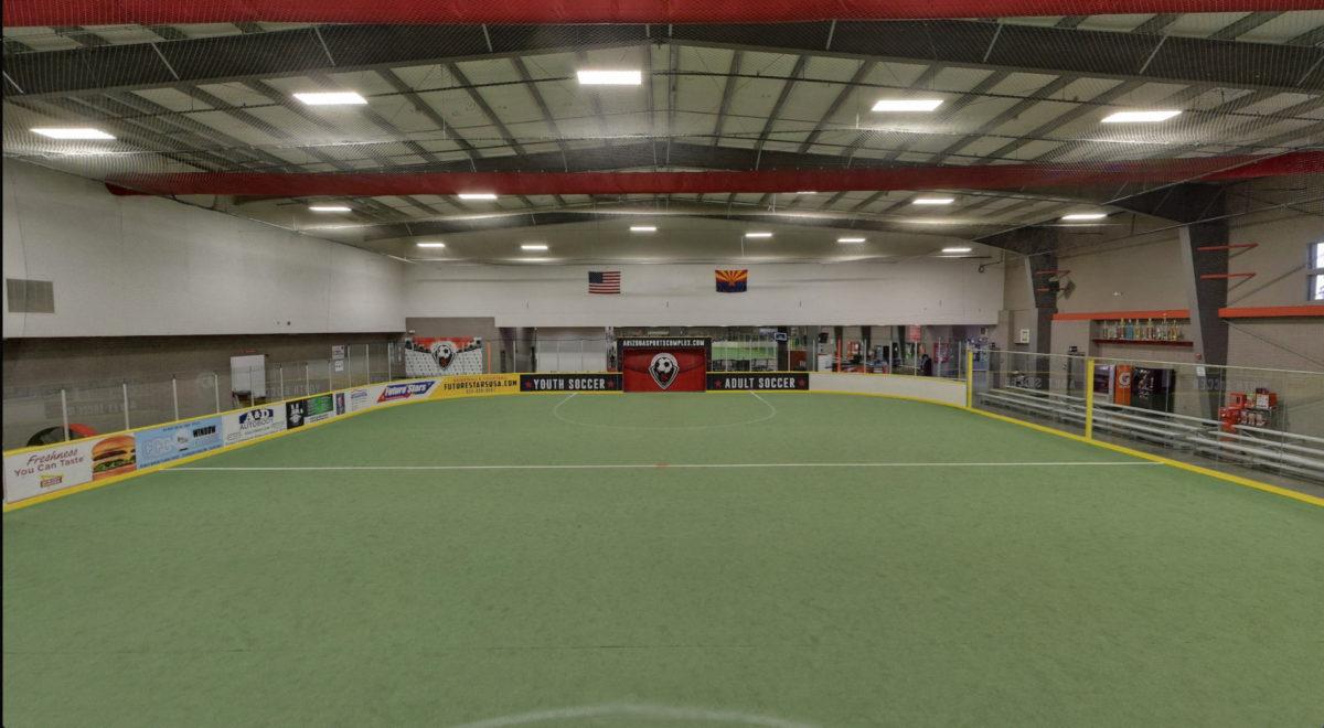 Largest indoor field in AZ